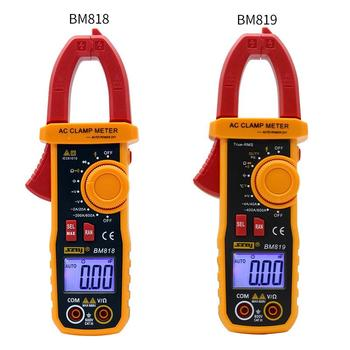 SZBJ BM818 BM819 Digital Clamp Meter for Auto Range Measurement of Large Capacitance