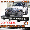 Free DHL Ship 1pcs Set 37inch 200W 20 000LM 10 30V 6500K LED Working Bar Boat