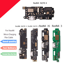 1pcs New Replacement For Xiaomi 3 4 4C 5 Redmi Note 2 3 4 3S /note 3 Pro Micro Dock Connector Board USB Charging Port Flex Cable