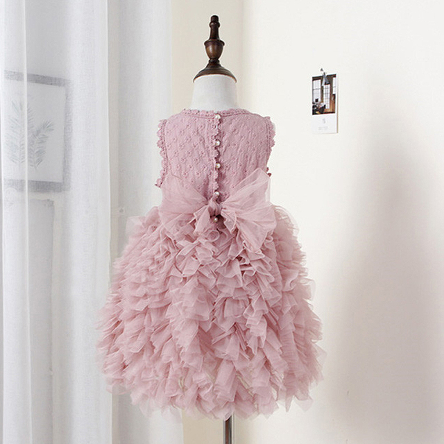 Baby Girl Dress Children Party Frock Little Princess Cake Tutu Dress