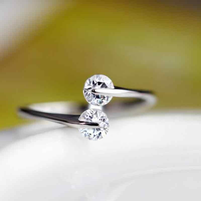 Ювелирные изделия из стерлингового серебра Ring925 стерлингового серебра 925 Браслеты из стерлингового серебра серебряные кольца для женщин bijoux (украшения своими руками) женское кольцо anelli bagues y127