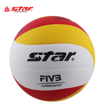 originalstar volleyball VB225-34 Genuine star PU Material Official Size 5 volleyball Free With Net Bag+ Needle top quality 2016 new arrival unisex official weight and size 5 pu volleyball indoor