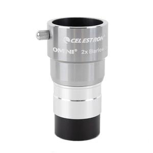 Image 3 - Celestron omni 2x barlow eyepiece by magnification eyepiece professional telescope barlow parts Astronomical eyepiece