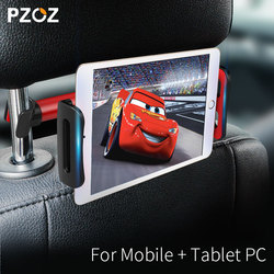 PZOZ backseat tablet PC stand headrest holder support for ipad car back seat Mobile phone holders stands Universal 360 Rotating