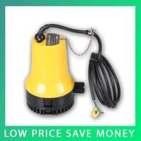 12V Submersible Pump Mini DC Brushless Water Pump Electric Marine Bilge Pump