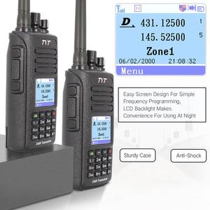 Image 5 - Hot dmr tyt MD 390 rádio dmr com gps impermeável ip67 walkie talkie md 390 rádio digital de banda dupla vhf uhf dmr baofeng
