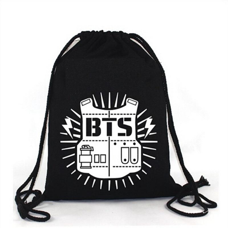 Kpop Bts Bangtan Boy Backpack Shoulder Bag String In Storage Bags From Home Garden On Aliexpress Alibaba Group