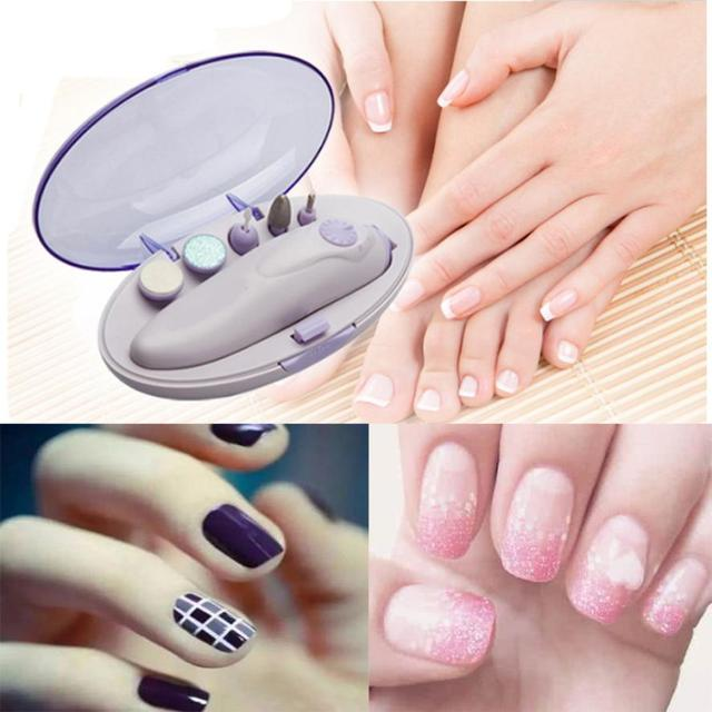 New Professional Electric Manicure Pedicure Grooming Beauty Nail Art ...