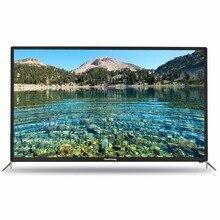 Квинсуэй Smart 4 К HD TV Android 55 дюймов TV 16:9 полный железа случай 3840*2160 WiFi USB Английский русский Испанский Китайский 110 В ~ 240 В
