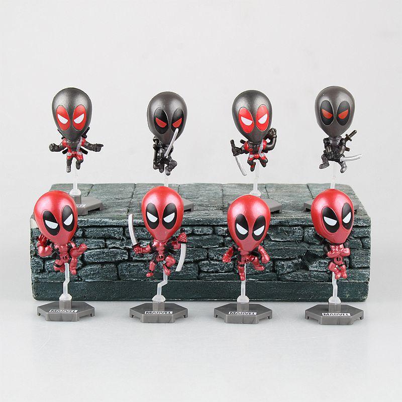 Marvel Deadpool Car Bobblehead Toy Collectible