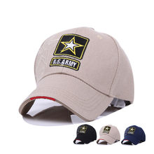 9968690f434 Men Women Brand Tactical Baseball Cap Summer Autumn Star Embroidery Hats  Curved Brim US Army Cap