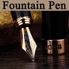 Высокое качество Роскошный благородство Мода 0.5 мм Iraurita перьевая ручка школы офисная техника красивая коробка 03822