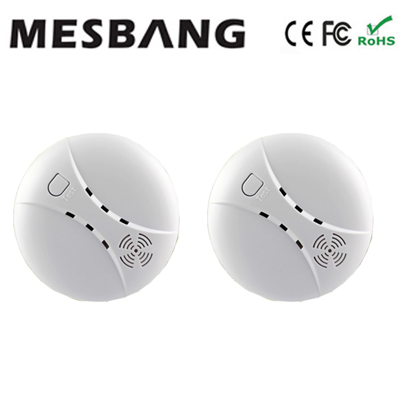 Hoting Selling Smoking Sensor Moking Detector Wireless Smoking Sensor 433MHZ For Wifi Alarm System G90B Free Shipping