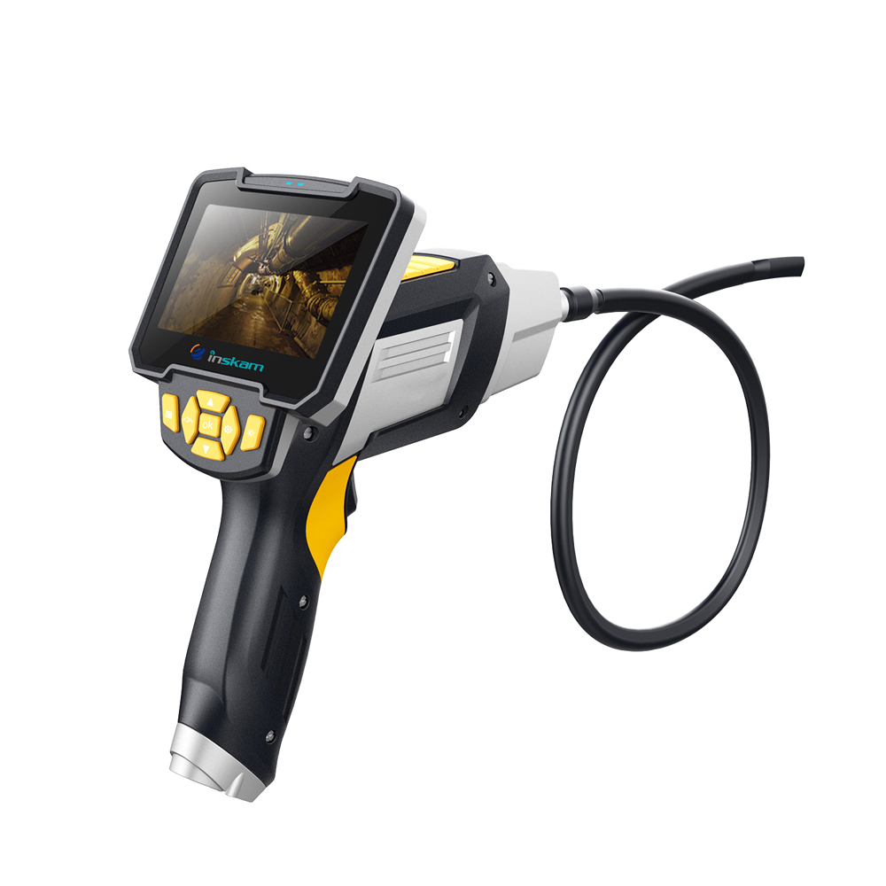 inskam112 4 3 Inch Display Screen 1m 5m 10m Handheld Endoscope Industrial Home Endoscopes with 6