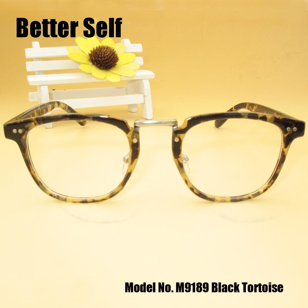 better self m9189 full rim spectacles tortoiseshell print frames vintage pc optical eyeglasses myopia glasses