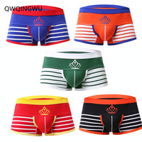5PCS/Lot Breathable Underwear Men Boxers Sleepwear Comfortable Soft Cotton Sexy Men Underwear Boxers Shorts Trunk Underpants