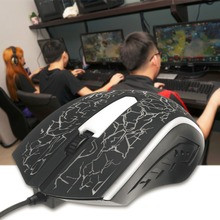 Wired Gaming Mouse 6 Button LED X7 4000DPI