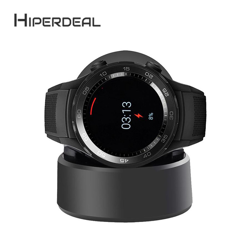 все цены на HIPERDEAL USB Charging Vertical Magnetic Vertical Charger Data For Huawei Watch 2 High Quality For Smart Watch Accessories 6Ot6