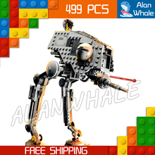 499pcs New Space Wars AT DP Robots 10376 Model Building Blocks Toys Gift Rebels animated TV
