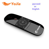 Mini Air Mouse Gyro Sensing 2 4G Wireless Keyboard Remote Control For Windows Android TV Box