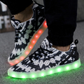 New 2017 Fashion Light Up Shoes Femme Luminous Men Shoes Led for Adults Schoenen Men Casual Chaussures Lumineuse Zapatos Hombre