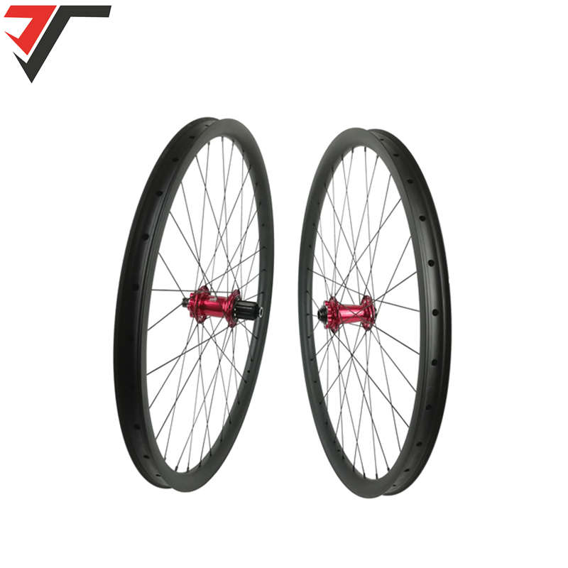 カーボン mtb ホイール 29er カーボン自転車ホイールセット因子 XD601SB B15 XD602SB B12 ハブ 15 × 110 ミリメートル 12 × 148 ミリメートルカーボンブーストホイール  グループ上の スポーツ & エンターテイメント からの 自転車の車輪 の中 1