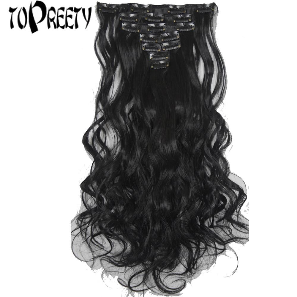 TOPREETY Heat Resistant Synthetic Hair Fiber 100gr 19