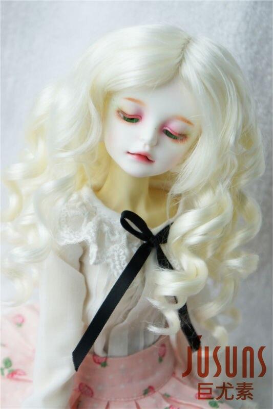 купить JD259 1/4 MSD doll wigs Lady roll BJD Synthetic mohair wig дешево
