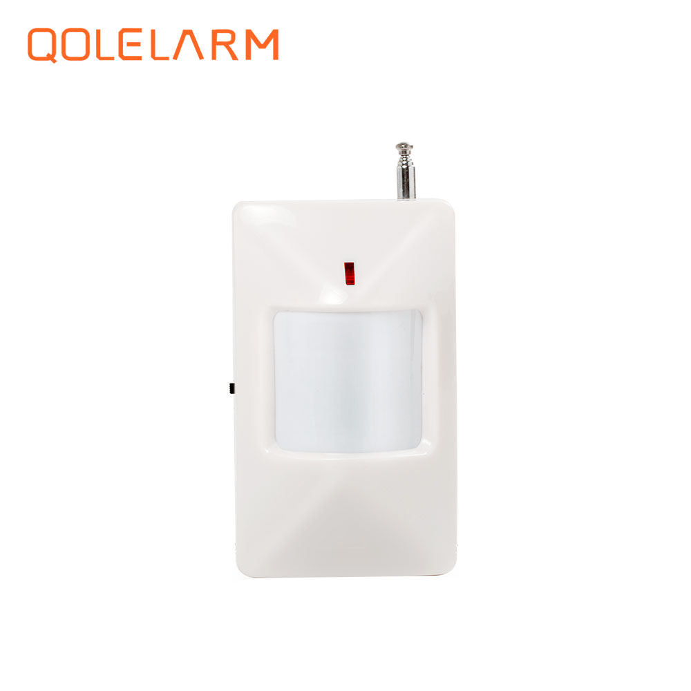 433 MHz Wireless Infrared detector PIR Motion Sensor for home security PSTN wi-fi gsm sms alarm system wireless 360 degree ceiling pir detector motion sensor infrared for house home gsm alarm system