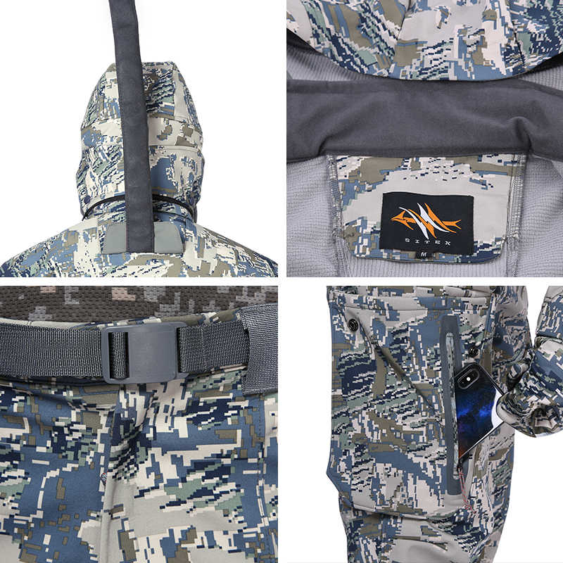 ad11b71c695 ... 2018 new sitex open windstopper country hunting jacket+pants Sitka  Jetstream with the paragraph ...