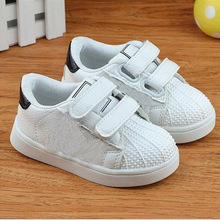 Фотография 2018 Lovely cool princess boys girls shoes light new brand baby sneakers toddlers Patch flower print baby casual shoes