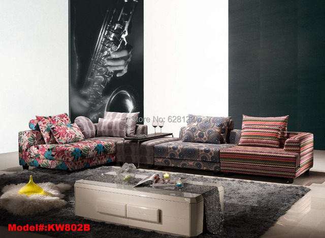 Kw802 Modern Fashion Creative Color Sofas Freedom Combination Of