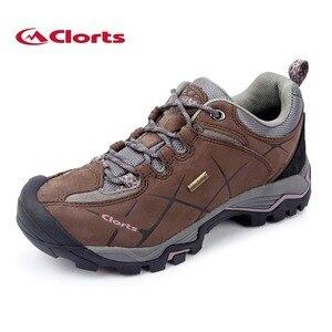 2019 Clorts Womens Walking Shoes Waterproof Outdoor Climbing Mountain Shoes Nubuck Upper For Women Free Shipping HKL-805C