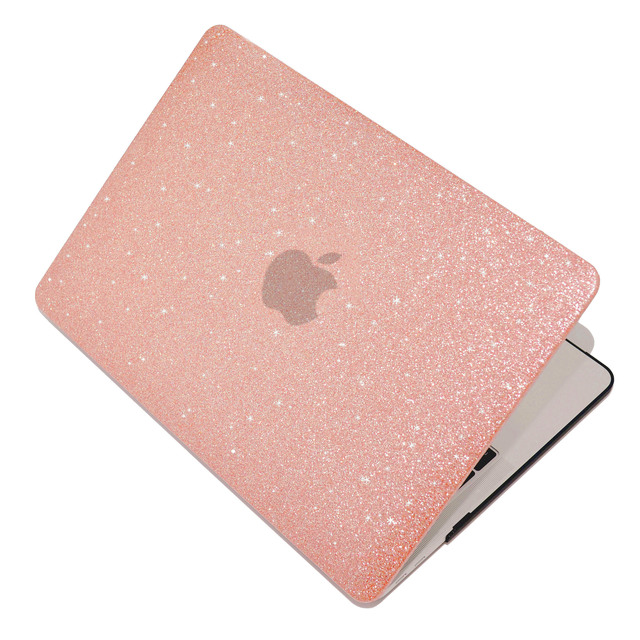 Shine Glitter Hard Laptop Case For MacBook Pro Retina Air 11 12 13 15,2018 for mac Air 13 A1932,New Pro 13 15 inch A1708 A1707