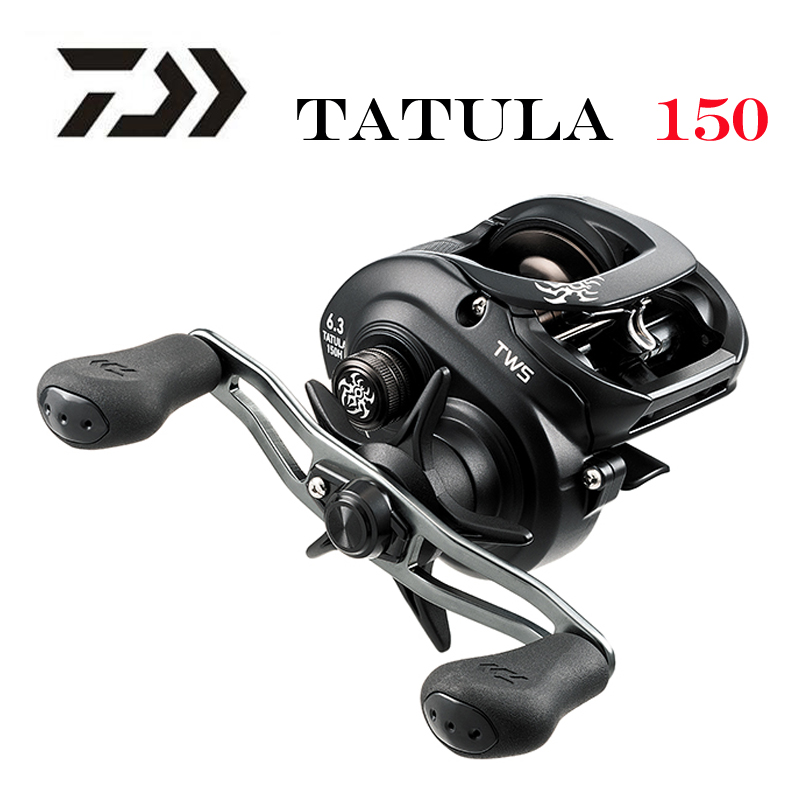 NEW 2019 DAIWA TATULA 150 P 150H 150HS 150HSL low profile fishing reel Casting Reel 7BB