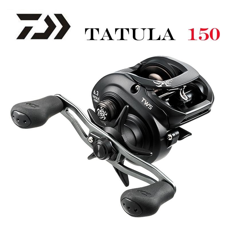 Рыболовная катушка DAIWA TATULA, низкопрофильная Катушка 150 P 150H 150HS 150HSL 7BB + 1RB, 2019