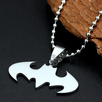 Кулон с эмблемой Бэтмен нержавеющая сталь 1