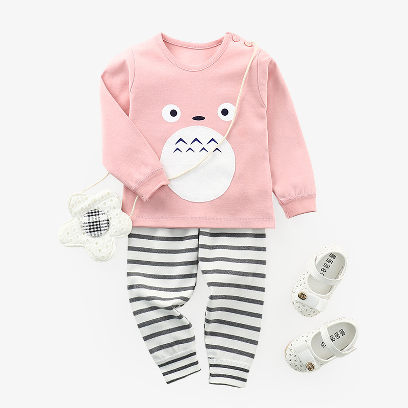 Autumn Winter baby clothes set 2pcs Newborn long-sleeved cotton baby girls clothing Infant underwear baby boys clothing bebes cotton baby rompers set newborn clothes baby clothing boys girls cartoon jumpsuits long sleeve overalls coveralls autumn winter