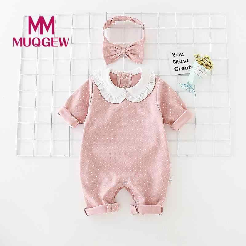 85d93779d Detalle Comentarios Preguntas sobre MUQGEW ropa de bebé niño recién nacido  Niño Polka Dot imprimir manga larga mameluco diadema 2 piezas conjuntos de  ropa ...