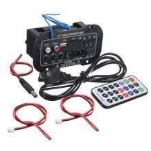 Автомагнитола 2 din аудио Bluetooth 2,1 Hi-Fi сабвуфер стерео bluetooth бас усилитель мощности Цифровой усилитель USB TF пульт дистанционного управления