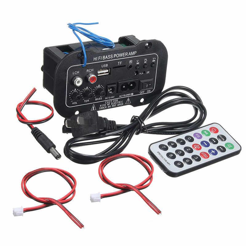 自動車ラジオ 2 din オーディオ Bluetooth 2.1 ハイファイサブウーファーステレオ bluetooth 低音パワーアンプデジタルアンプ USB TF リモート制御