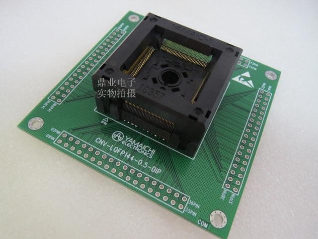 LQFP144/DIP144 STM IC testzitplaats testbank test socket programmeren seat
