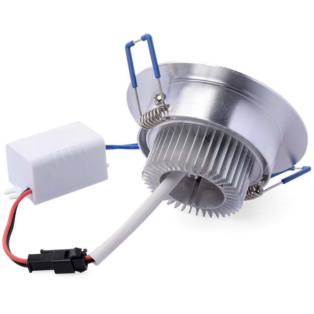 1Pcs 9W 12W 15W AC85V-265V 110V / 220V LED Առաստաղի - Ներքին լուսավորություն - Լուսանկար 4