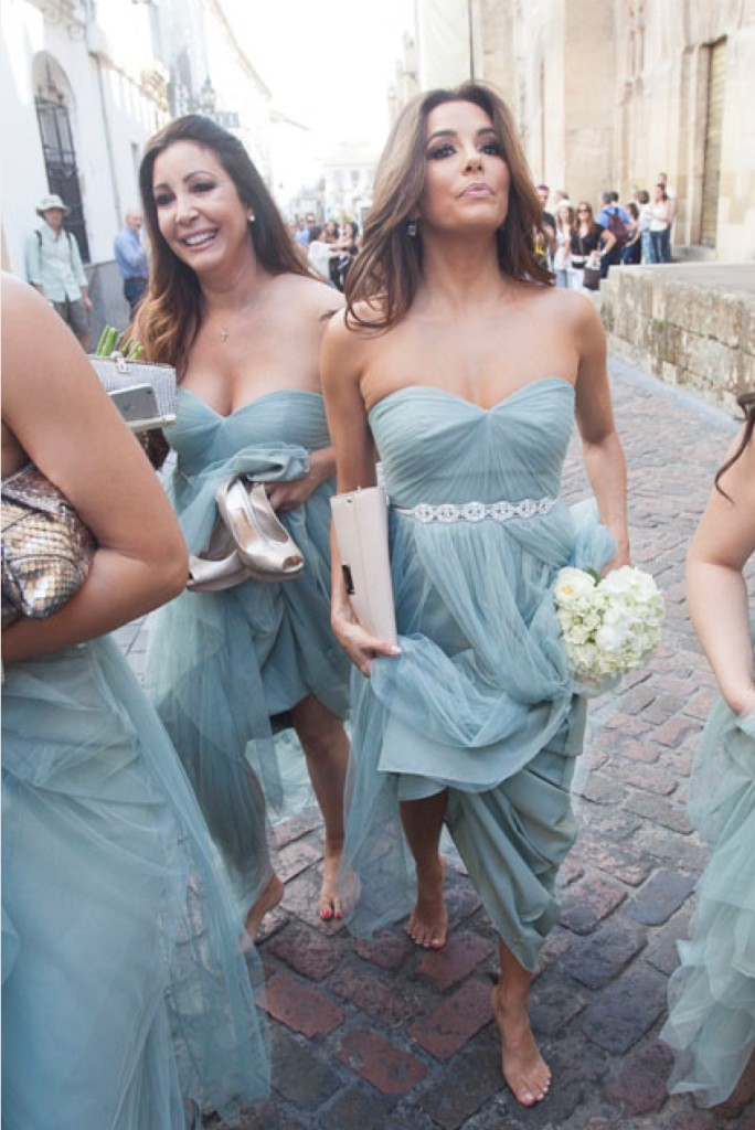2017 Long Tulle Dusty Blue Bridesmaid Dresses With Crystal Beaded Sash Sweetheart Floor Length Wedding Party Plus Size In From