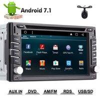 Eincar 6.2'' Double 2 Din Android 7.1 Quad Core Head unit Car DVD Player Car Auto Stereo Radio Bluetooth GPS Navi Mirror Link SW
