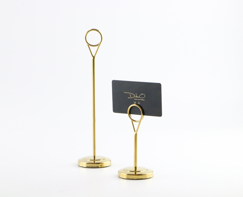 Metal Card Holder Note Holder Food Store Name Card Display Price Tag Clamp Shelf Table Desk Sign Clip Label Holder Stand GOLD монитор nec e243wmi black e243wmi black