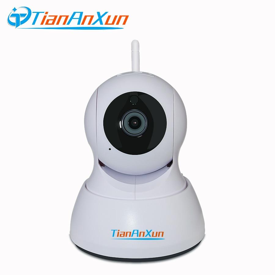 Tiananxun Home Security Ip Camera Wi-Fi Wireless Surveillance Camera Wifi 720P Night Vision Two Way Audio Ptz Onvif App Icsee