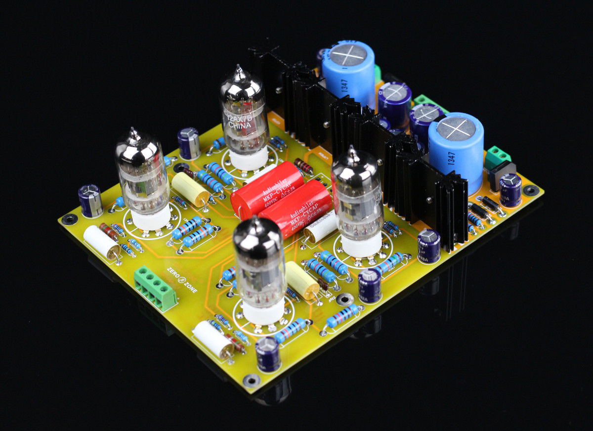 GZLOZONE Assembled PRT05A Hifi Tube preamp board base on conrad-johnson CL Circuit L3-22 academic listening encounters life in society listening note taking discussion teacher s manual