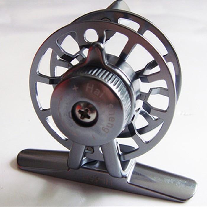 Winter Reel HI-45 CEWAY Semua Metal Fish Coil Fly Fishing Reels - Memancing - Foto 3
