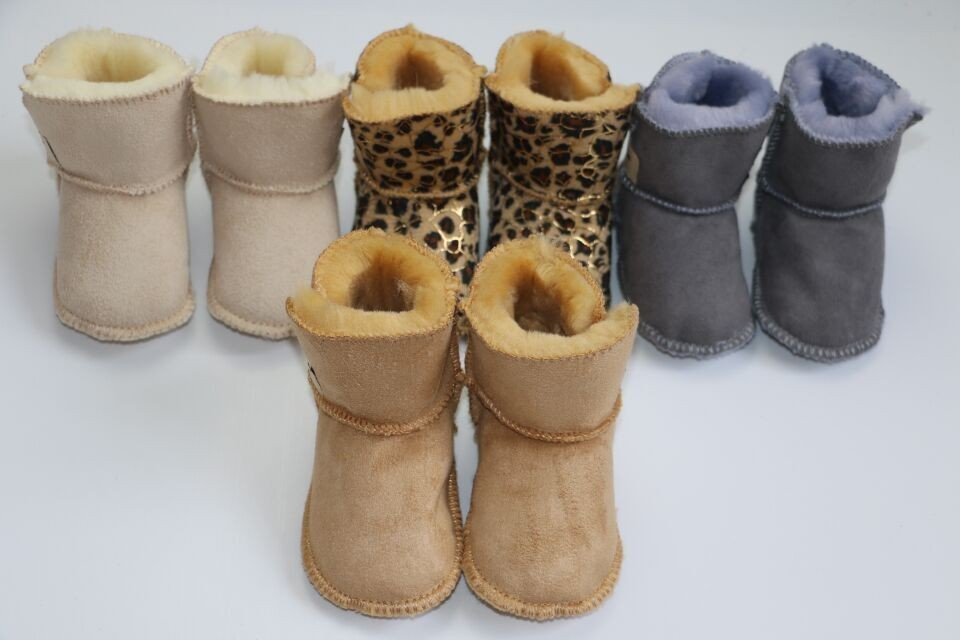 2019 Very Thick Baby Kids Snow Boots First Walkers Winter Artificial Fur Toddler Shoes  Infant Baby Boy Girls Booties Shoes